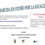 II Marcha en otoño por la Igualdad en Valdencín