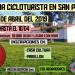 I Marcha Cicloturista a San Pedro