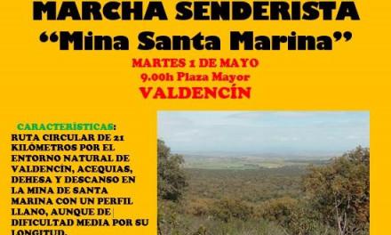Marcha senderista «Mina Santa Marina»
