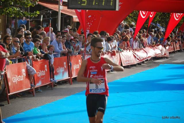 Mario Mirabel ganador en Ribadesella