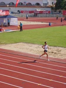 Mario Mirabel corrió la mayor parte de la prueba en solitario - ADOLFO GÓMEZ