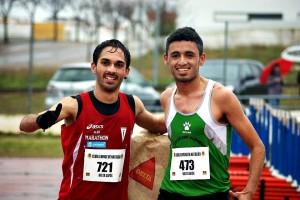 Mario Mirabel (izquierda) junto a su compañero y amigo Mohamed Bouda - CEDIDA