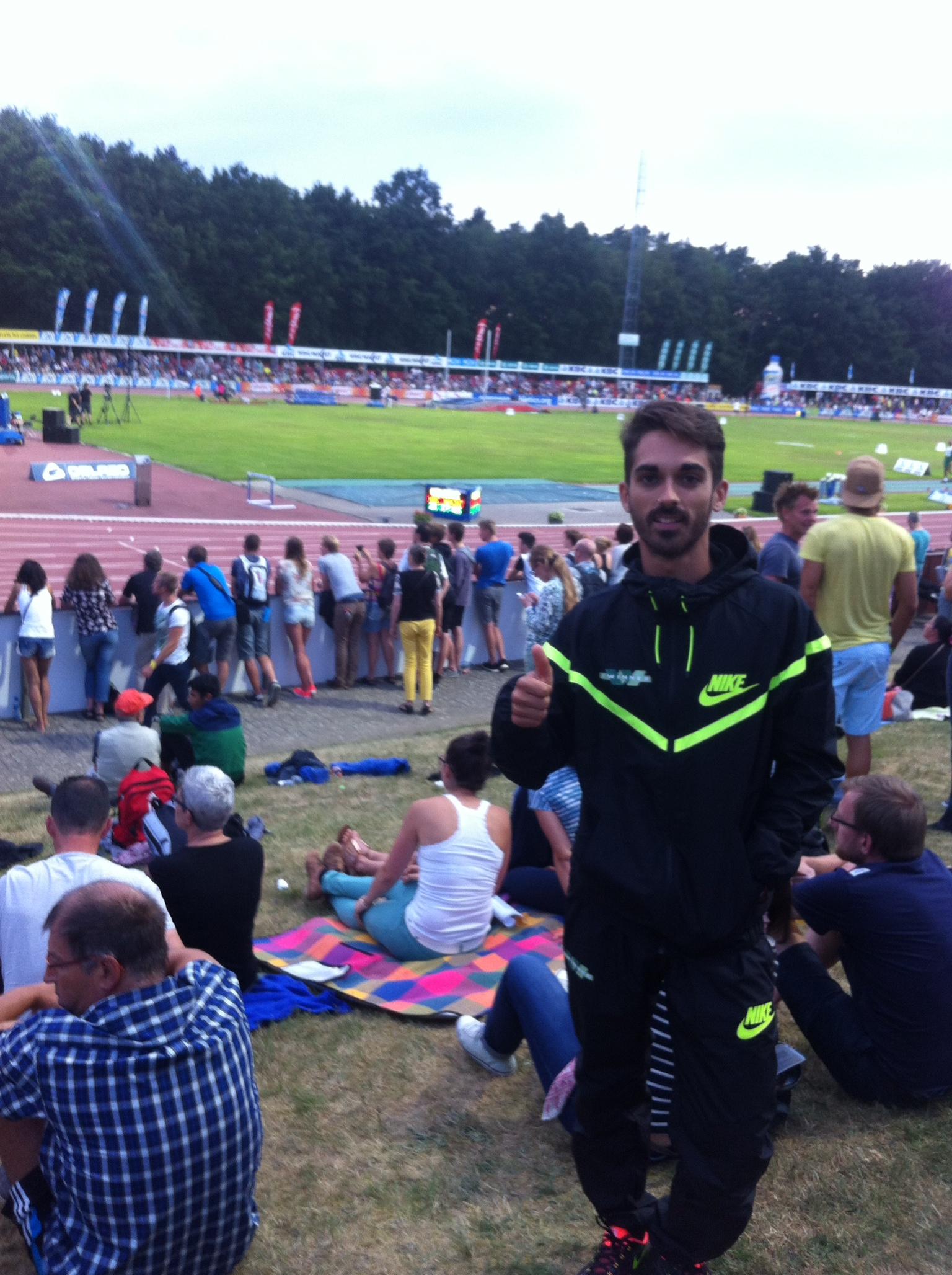 Mario Mirabel estará en el Campeonato de España por Federaciones después de volar en Bélgica