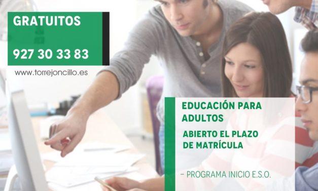 MATRICULACIÓN EDUCACIÓN DE ADULTOS 2021/2022