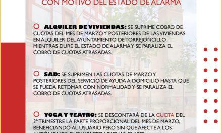 Paquete de medidas Ayuntamiento y Diputación