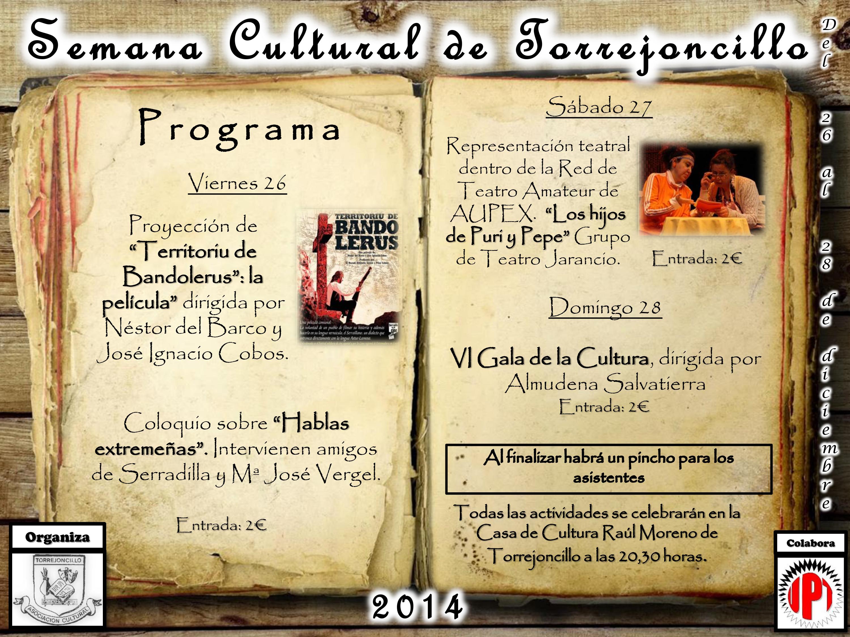 Semana Cultural de Torrejoncillo