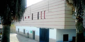 Parte del edificio en el que Aspace ha estado prestando servicio en estos años en Moraleja - CEDIDA