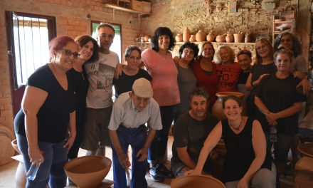 Ceramistas israelitas visitan Torrejoncillo
