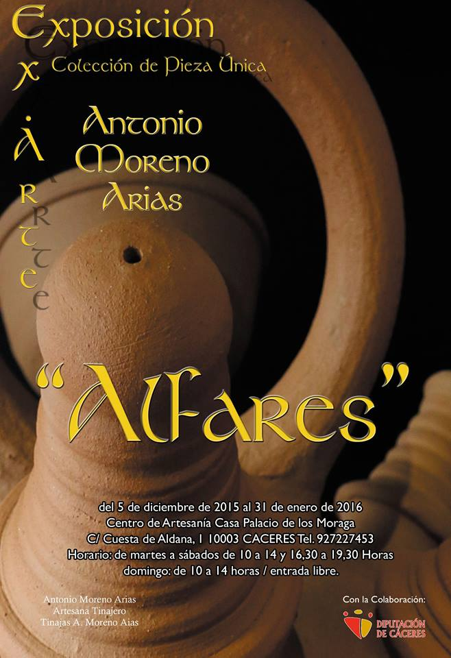 Antonio Moreno expone en la Casa Palacio La Moraga