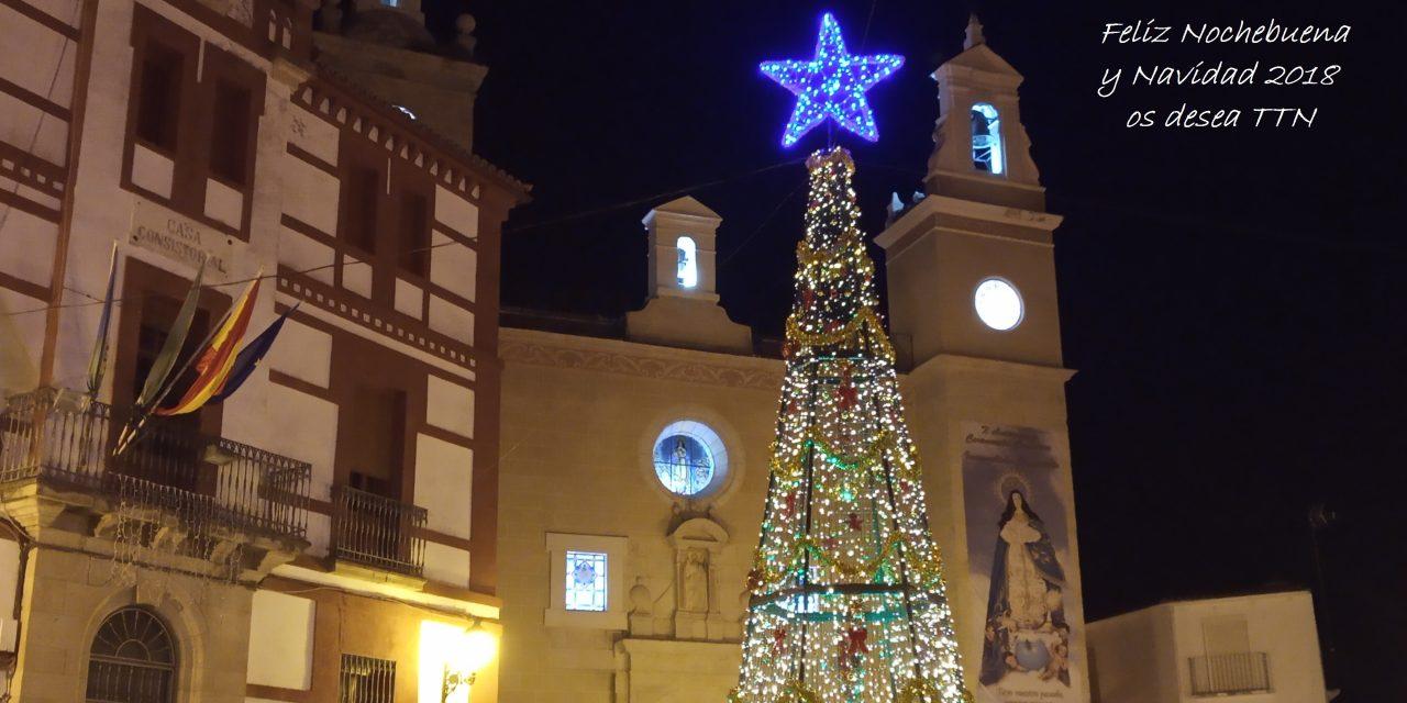 Felíz Nochebuena y Navidad
