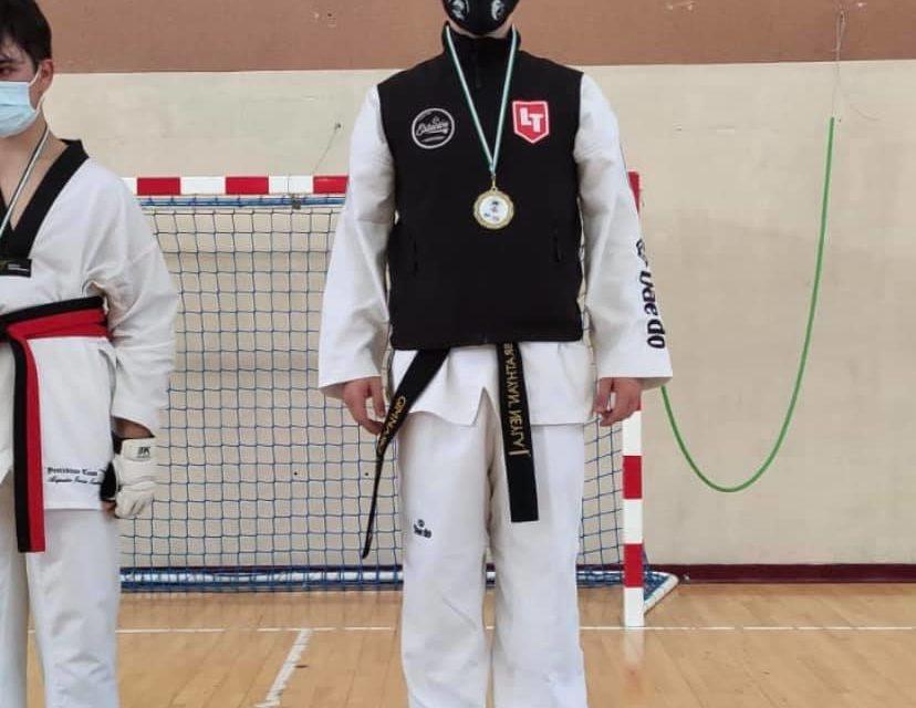 Campeón de Extremadura de Taekwondo