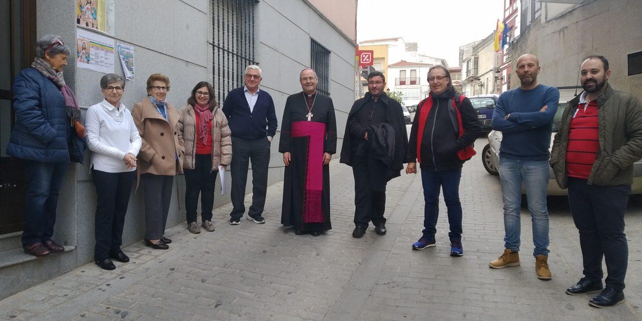 Comienza la visita Pastoral de D. Francisco Cerro en Torrejoncillo
