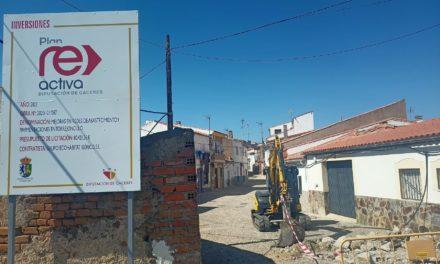 Iniciadas obras de mejora de pavimentos y redes en varias calles del municipio