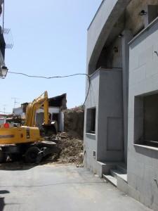 Comienzo de las obras de ampliación de la Sede de Paladines, marzo 2012 - ISMAEL DUARTE