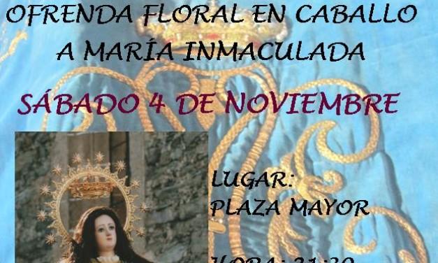 Ofrenda Floral a Caballo 2017
