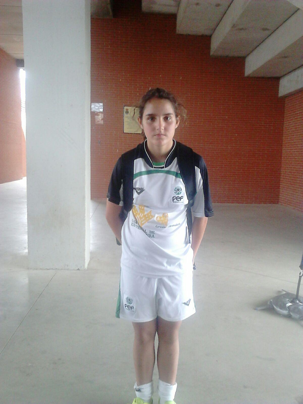 Ana Oliva ya se encuentra disfrutando del Campeonato de España