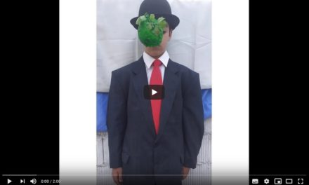 """El hijo del hombre"" de Renè Magritte por Omar González."