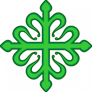 Cruz de Alcántara, emblema de la Orden de Alcántara - WIKIPEDIA
