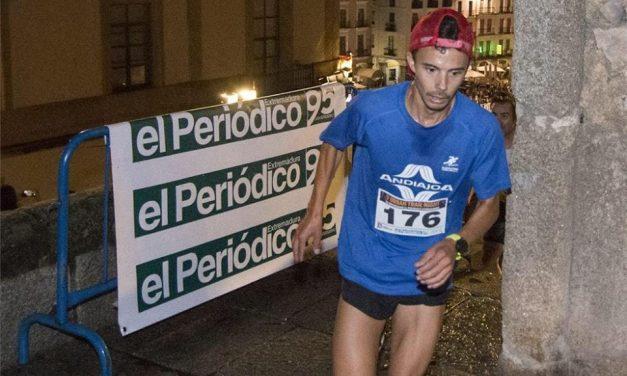 Un torrejoncillano segundo clasificado en el Intramuros Urban Trail Night 95 Aniversario Periódico Extremadura