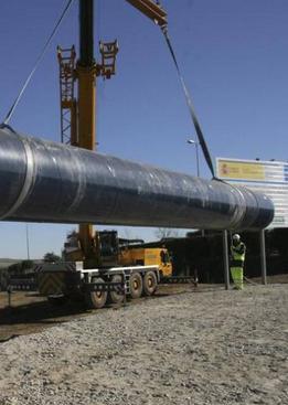 Las obras de trasvase de la Presa de Portaje continuarán durante 2015