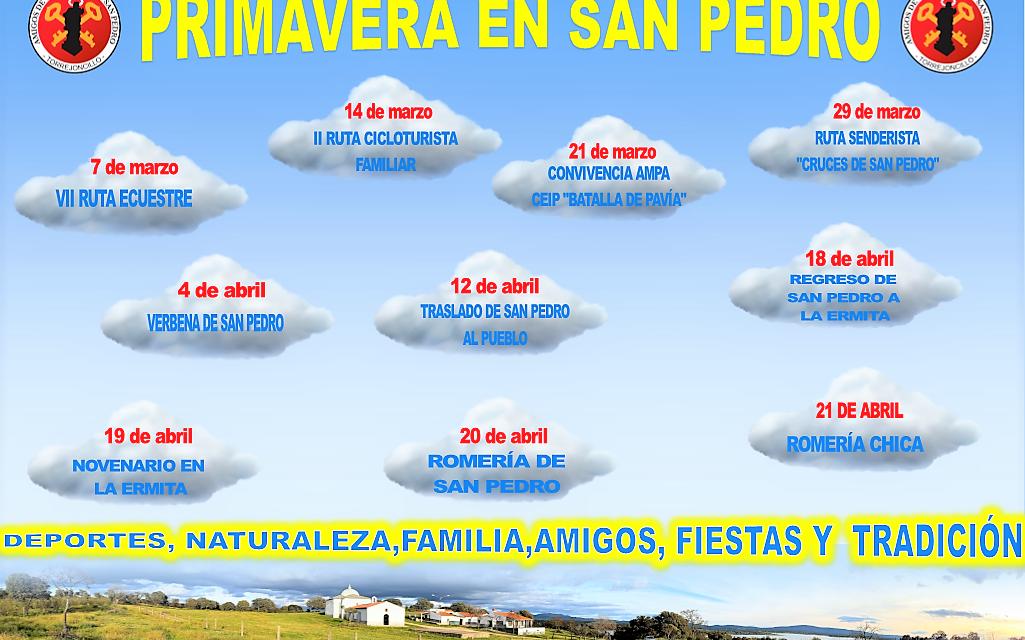PRIMAVERA EN SAN PEDRO