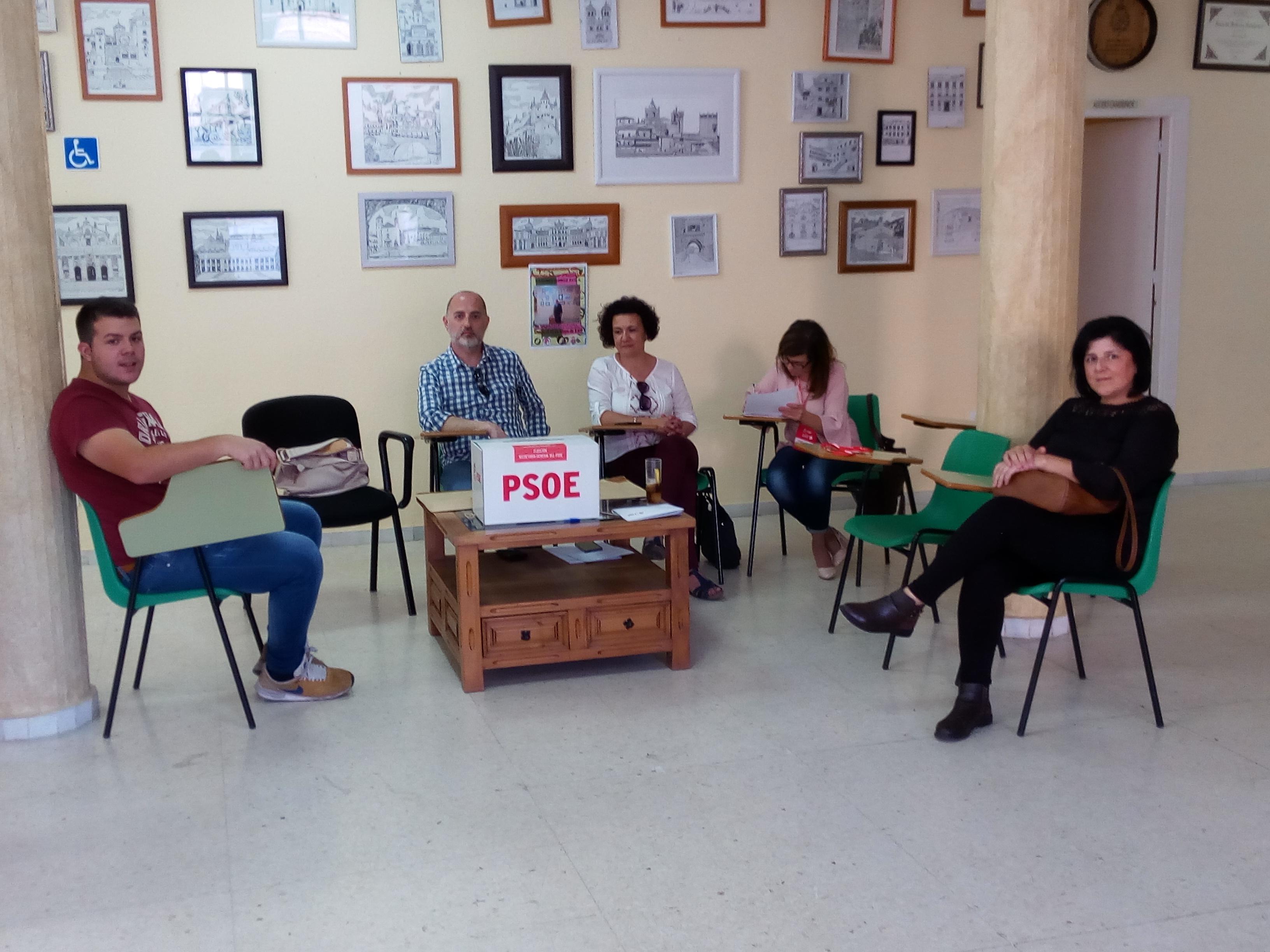 Muy ajustado el resultado de las primarias del PSOE en Torrejoncillo