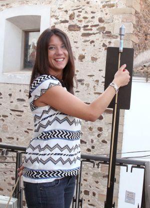 Patricia Parro, edil del PP, será la abanderada de los Sanjuanes de Coria 2014