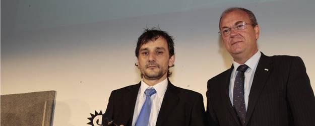 Pedro Mallo, de «Embutidos y Jamones Mallo» de Cañaveral, Empresario Extremeño del año 2013