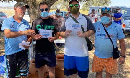 70 participantes en el Concurso de Pesca por parejas