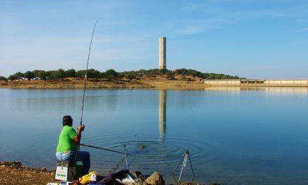 Concurso de pesca organizado por la Sociedad de Pescadores Los Encinares