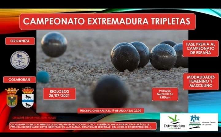 Campeonato de Extremadura de Tripletas