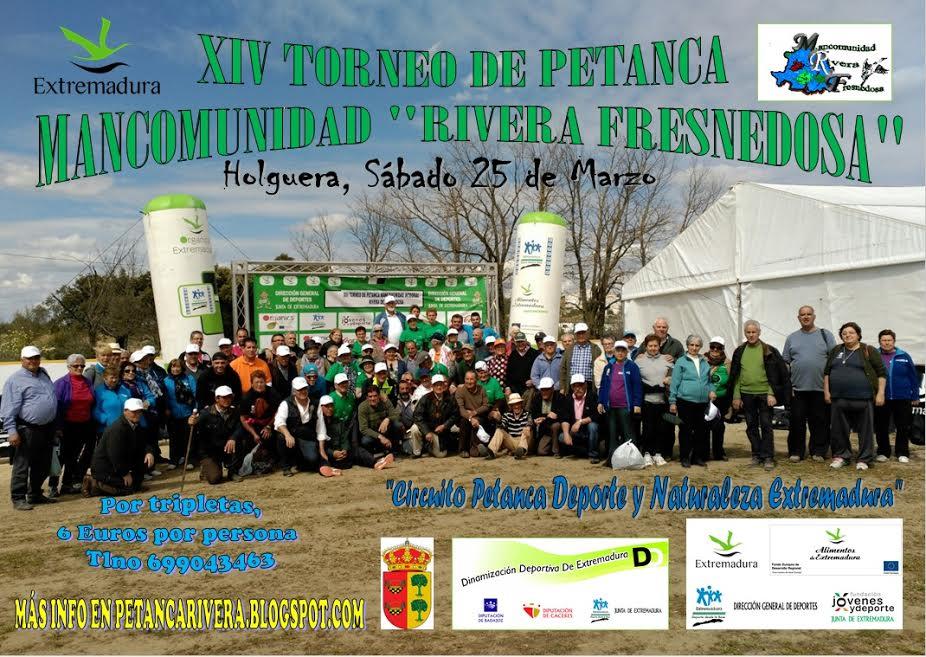 XIV Torneo de Petanca