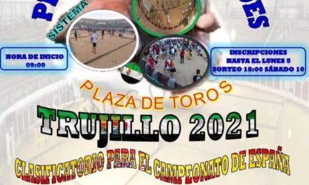 Torrejoncillano en el Campeonato de Extremadura de Petanca