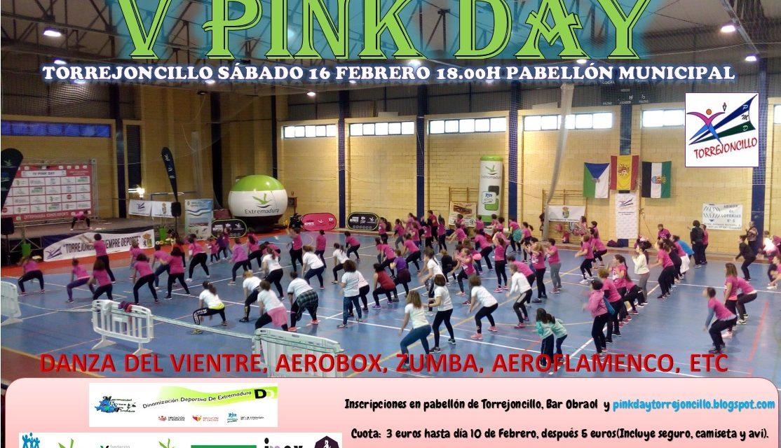 El próximo 16 de Febrero el V Pink Day Torrejoncillano