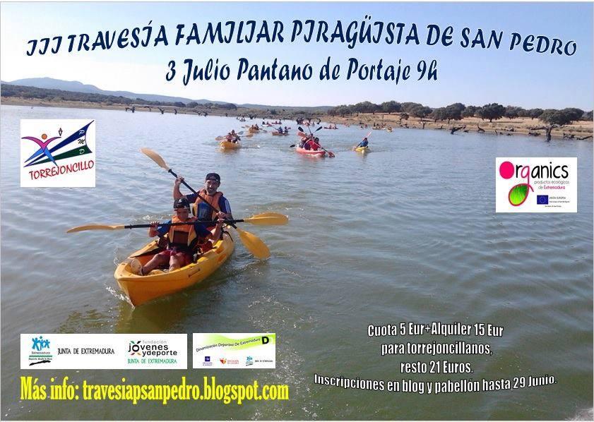 Ya está aquí la Travesía Familiar Piragüista de San Pedro