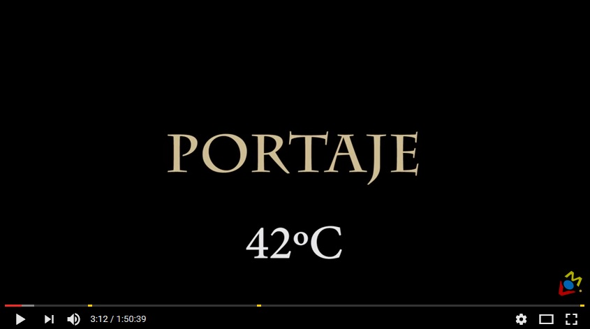 Portaje, 42ºC