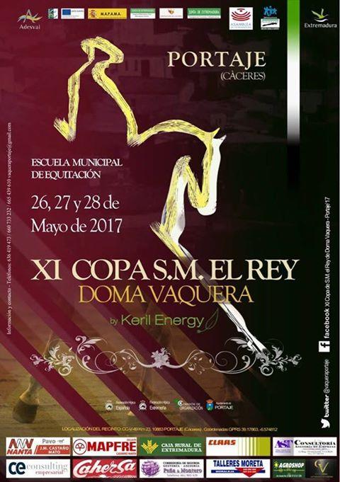 El video de XI Copa de S.M. el Rey de Doma Vaquera – Portaje '17 realizado por un Torrejoncillano