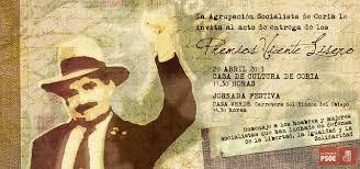 La Agrupación Socialista de Coria celebró la IV edición de los premios 'Vicente Lisero'