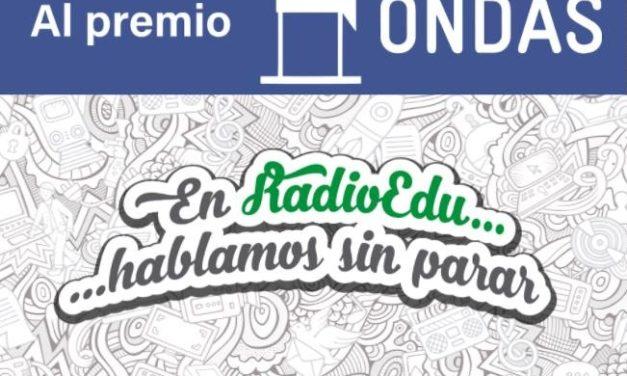 Radio Edu en los Premios Ondas