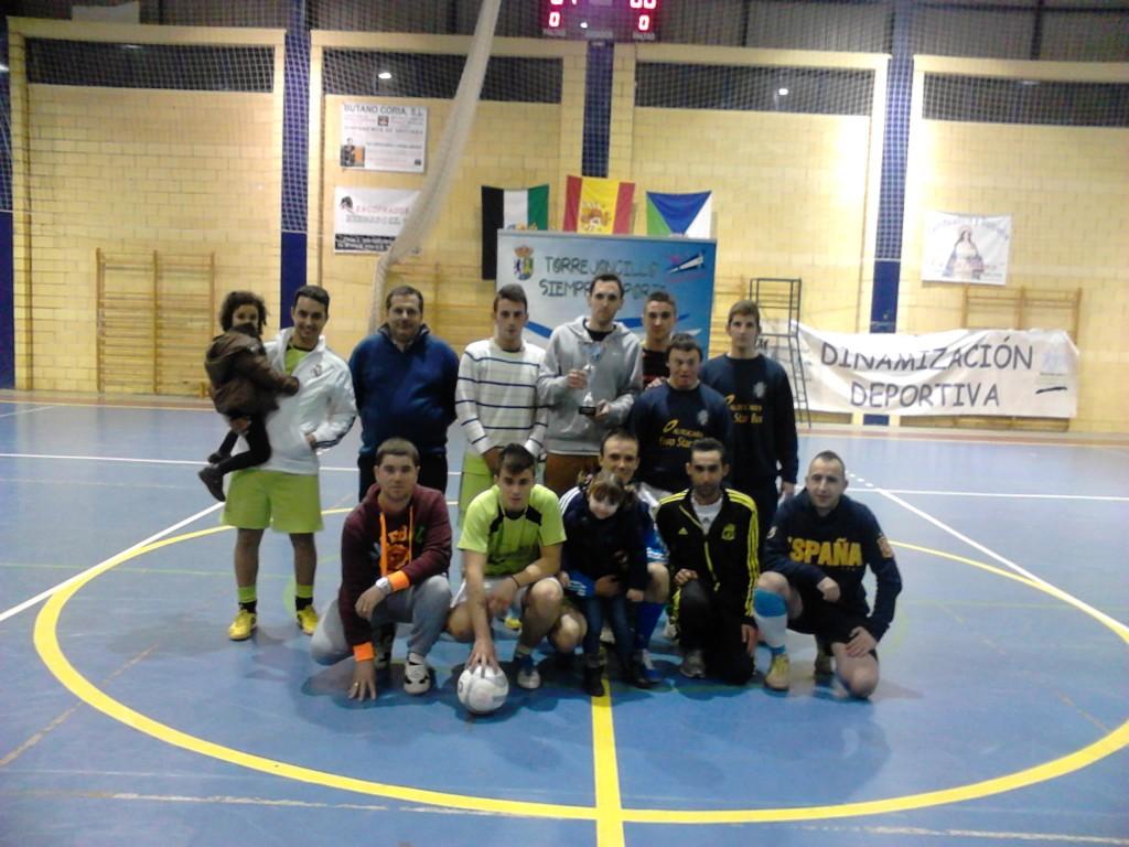 Estructuras Gogal (Valdencín), campeón del torneo - DINAMIZACIÓN DEPORTIVA