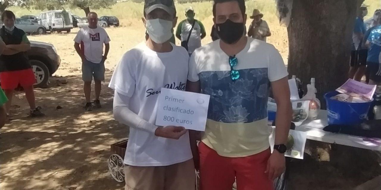 Mario Cabezas ganador del concurso de pesca Intersocial de la Sociedad de Pescadores los Encinares