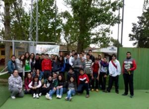 Los alumnos de 4º de ESO disfrutaron del Pádel - IESO Vía Dalmacia