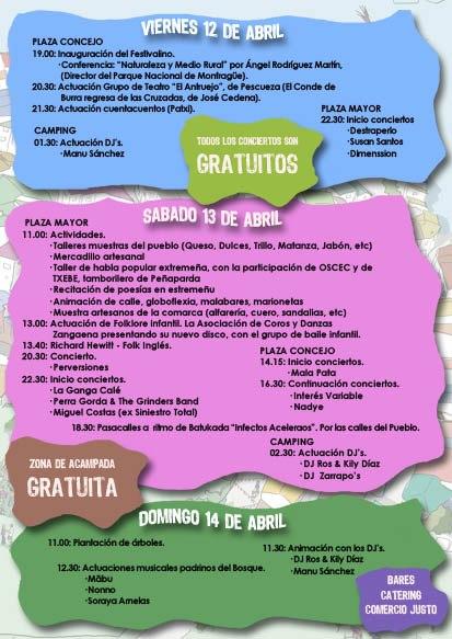 Programa Festivalino 2013