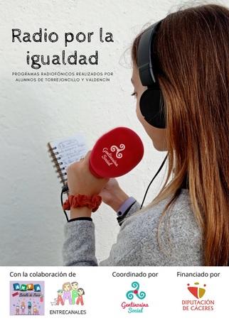 Cáceres. Alumnos de Torrejoncillo y Valdencín crearán y dirigirán programas de radio sobre la igualdad