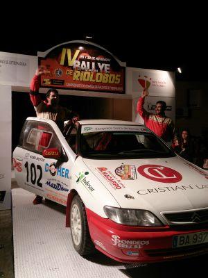 Riolobos repite en el Campeonato de España de Rallys de Tierra