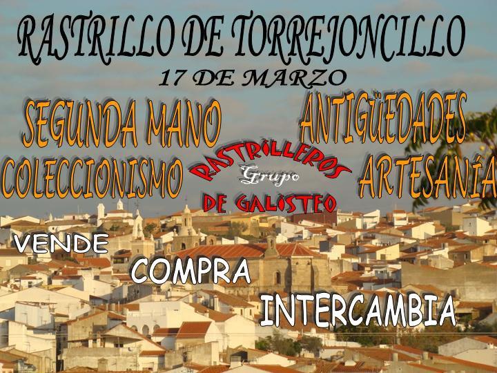 Los «Rastrilleros de Galisteo» organizan un rastrillo en Torrejoncillo el 17 de marzo