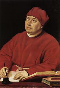 Retrato del cardenal Tommaso Inghirami - RAFAEL SANZIO