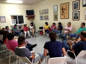"""Reunión en la Mancomunidad """"Rivera de Fresnedosa"""" con el grupo socialistas de la Diputación de Cáceres - PSOE CÁCERES"""
