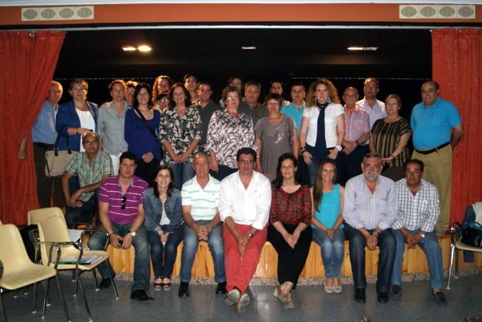 Junta comarcal que el PP de la Provincia de Cáceres celebró el martes en Riberos del Tajo - CEDIDA
