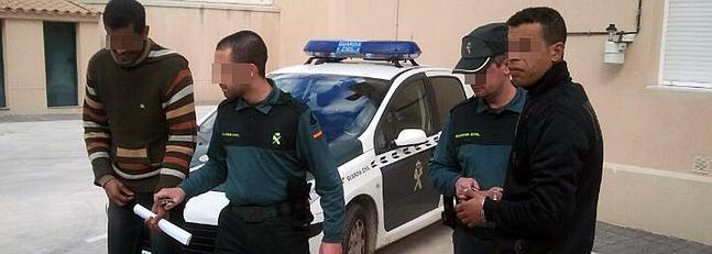 Cinco detenidos por robar en casas de campo y explotaciones ganaderas en la provincia de Cáceres